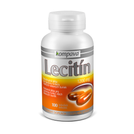 Lecitin 1200 mg 1200mg/100 kps