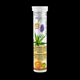 AcidoFit MD 15+1 tbl. 15 + 1 tabliet, pomaranč-limetka