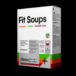 Fit Soups 210 g/6 dávok, mix+hrnček
