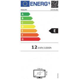 """19"""" LED Philips 193V5LSB2-1366x768, VGA,200cd,VESA"""