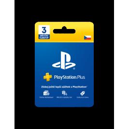 PlayStation Plus Card Hang 90 Days - pouze pro CZ PS Store