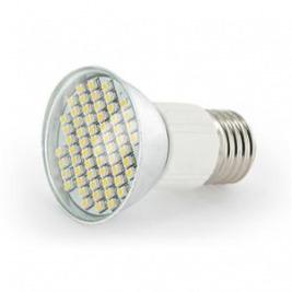 WE LED žárovka 60xSMD 3W E27 teplá bílá – refl