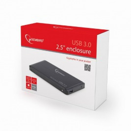 GEMBIRD Externí dock pro 2,5'', USB 3.0, SATA,černý