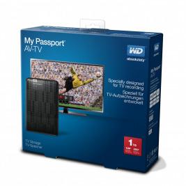 Ext.HDD 2.5'' WD My Passport AV-TV 1TB USB3.0 černý