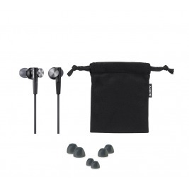 SONY sluchátka MDR-XB50AP, handsfree, bílé