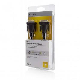 BELKIN DVI Dual-Link kabel, DVI-D, 1.8 m