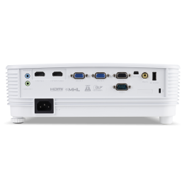 Acer DLP P1150 - 3600Lm, SVGA, 20000:1, HDMI, VGA, USB, repro., bílý