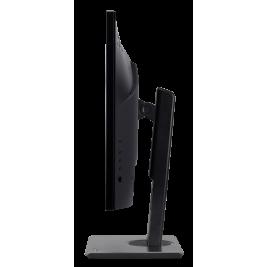 27'' LCD Acer B277 - IPS,FullHD,4ms,75Hz,250cd/m2, 100M:1,16:9,HDMI,DP,VGA,repro,pivot + 3 roky NBD