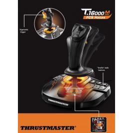 Thrustmaster Joystick T16000M FCS HOTAS, včetně plynového pedálu, pro PC