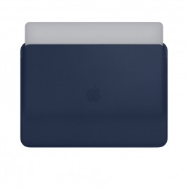 Leather Sleeve pro MacBook Pro 13 - Midnight Blue