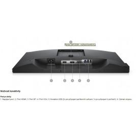 20'' LCD Dell P2018H Professional 16:9/HDMI/DP/VGA/USB/3RNBD/Černý