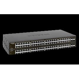 NETGEAR S350 Series 48-Port Gigabit Ethernet Smart Managed Pro Switch with 4 SFP Ports, GS348T