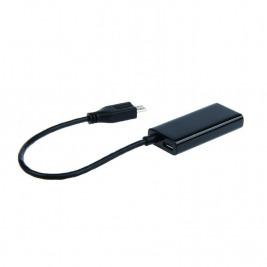 Gembird adaptér MHL (M) - HDMI (F) + microUSB (BF, 11pin), 16cm