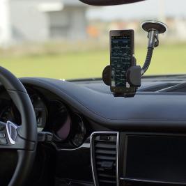 WE Univerzální držák do auta GSM/GPS ohebný přísavka