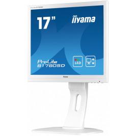 17'' LCD iiyama Prolite B1780SD-W1 - 5ms,250cd/m2,1000:1,5:4,VGA,DVI,repro,pivot,výšk.nastav.,bílý