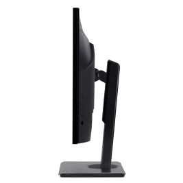 24'' LCD Acer B247YB - IPS,FullHD,4ms,75Hz,250cd/m2, 16:9,HDMI,DP,VGA,USB,repro,pivot + 3 roky NBD