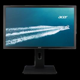 24'' LCD Acer B246HL - TN,FullHD,5ms,60Hz,250cd/m2, ,16:9,DVI,DP,VGA,repro,pivot,výška. + 3 roky NBD
