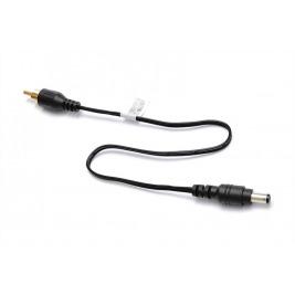 Napájecí kabel pro POS,cinch - DC jack, 30cm,černý