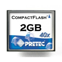 Pretec 2.0GB karta CompactFlash HighSpeed