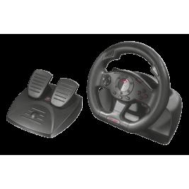 volant TRUST GXT 580 Vibration Feedback Racing Wheel