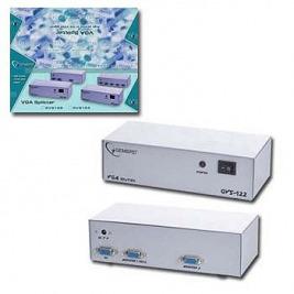 GEMBIRD Datový přepínač VGA rozbočovač 2 cesty
