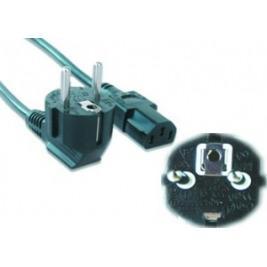Kabel síťový  5m VDE 220/230V napájecí