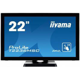 22'' LCD iiyama T2236MSC-B2 - multidotekový, FullHD, AMVA, kapacitní, USB