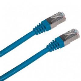 Patch cord FTP cat5e 0,5M modrý
