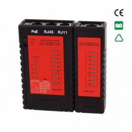 Tester WS-NF-468PT, tester UTP kabelů na POE, 802.3at, test POE