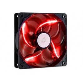 větrák Cooler Master SickleFlow 120x120, long life sleave, 19dBA, red LED