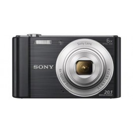 Sony Cyber-Shot DSC-W810 černý,20,1M,6xOZ,720p