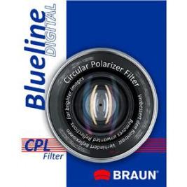 BRAUN C-PL polarizační filtr BlueLine - 58 mm