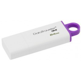 64GB Kingston USB 3.0 Data Traveler G4 fialový
