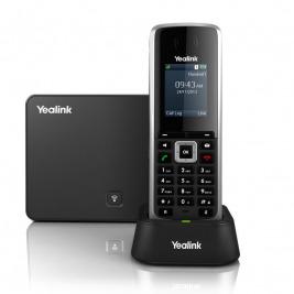 Yealink W52P IP DECT báze+ručka,PoE,1,8'' bar. LCD,až 5 ruček