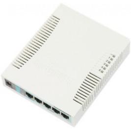 Mikrotik RB260GS nastav. 5x Gbit + 1xSFP switch