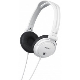 SONY Sluchátka EXTRA BASS & DJ type MDR-V150 bílá