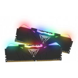16GB DDR4-3200MHz RGB Patriot Viper CL16, kit 2x8GB black