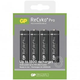 Nabíjecí baterie GP AA Recyko+  (2000mAh) 4ks