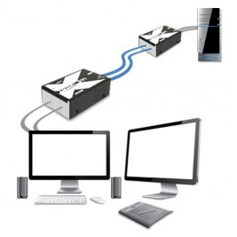 Adder X-DVI PRO MS2, DVI extender