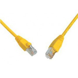 SOLARIX patch kabel CAT5E SFTP PVC 2m žlutý