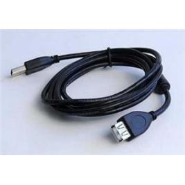 Kabel USB A-A 4,5m 2.0 prodl. HQ s ferrit. jádrem