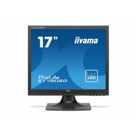 17'' LCD iiyama Prolite E1780SD-B1 - SXGA,5ms,250cd/m2,DVI,VGA,repro