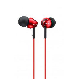 SONY sluchátka MDR-EX110LP, červené