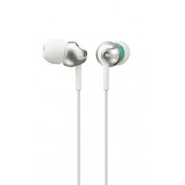 SONY sluchátka MDR-EX110LP, bílé