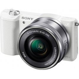 Sony A5100L, 16-50mm, 24,3Mpix, bílý