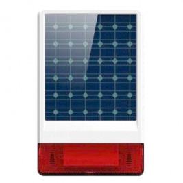 iGET SECURITY P12 - venkovní solární siréna, obsahuje také dobíjecí baterii, pro alarm M2B