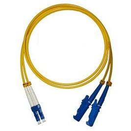 Patchcord FO duplex E2000/PC-LC/PC 9/125um SM 5m, OS2