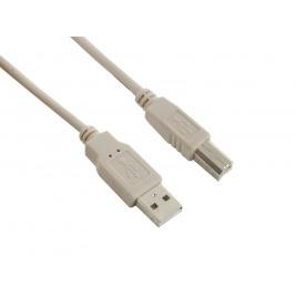 4World Kabel USB 2.0 AM-BM 3.0m Gray