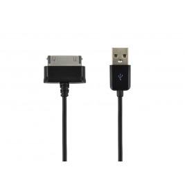 4World Datový kabel Galaxy Tab 1.0m Black