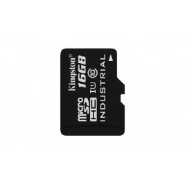 16GB microSDHC Kingston UHS-I Industrial Temp + bez adapteru